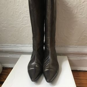 Davos Gomma Bronze Tall Boots
